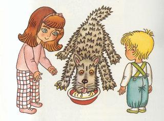 Mít_zviratko_64_děti a pes žere