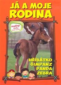 Já_a_moje_rodina_Hříbátko_Šimpanz_Panda_Zebra