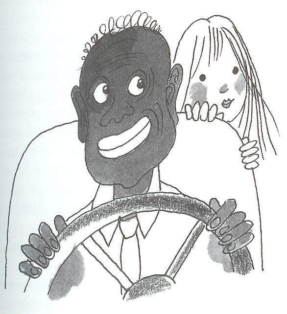 Panenka-řidič