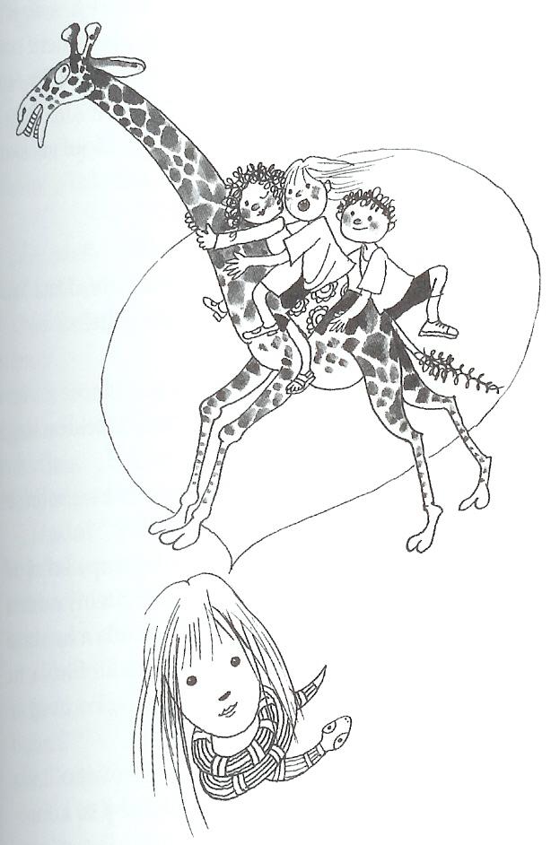 Panenka-žirafa