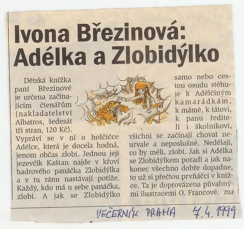 Adélka_Večerník