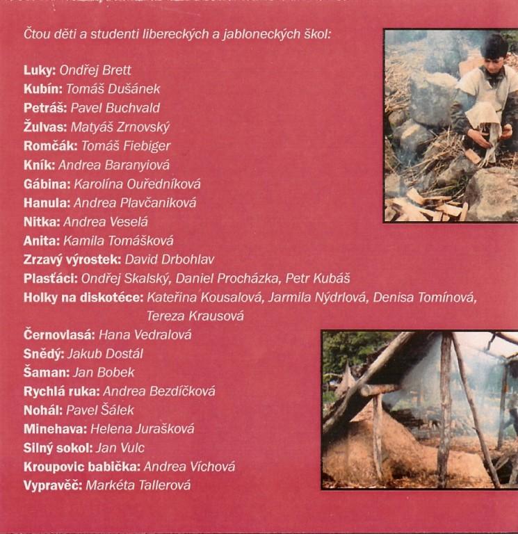 CD Praprázdniny- obsazení