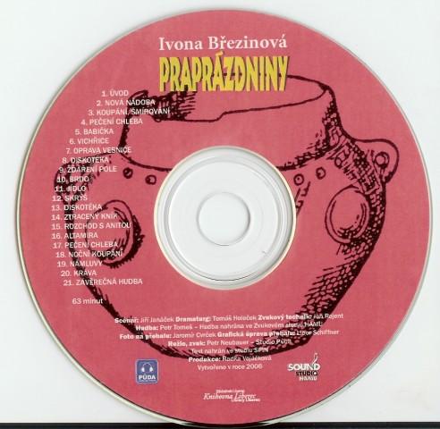 Praprazdniny -kotouc-CD