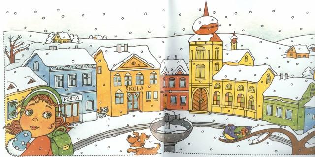 Sněhuláci z Mrkvonos -ves