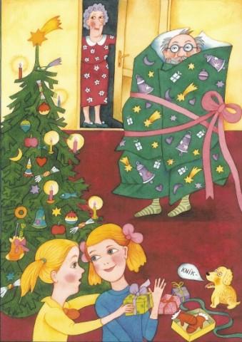 Věra,Nika-VánoceM